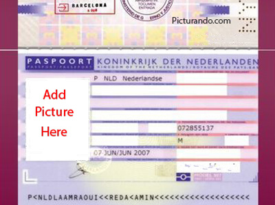 Passport Generator | Create, customize and print fake passports