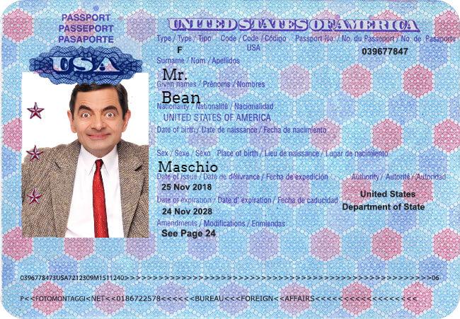 Passport Generator | Create, customize and print fake